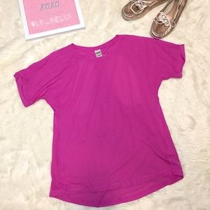 Victoria's Secret Sport Racerback Mesh Tee Medium